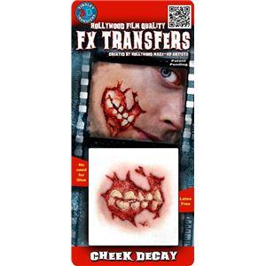 コスプレ衣装/コスチューム Tinsley Transfers Cheek Decay 装飾メイクシール