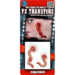 コスプレ衣装/コスチューム Tinsley Transfers Squirm 装飾メイクシール