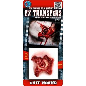 コスプレ衣装/コスチューム Tinsley Transfers Exit Wound 装飾メイクシール