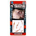 コスプレ衣装/コスチューム Tinsley Transfers Scarred 装飾メイクシール