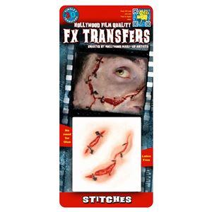 コスプレ衣装/コスチューム Tinsley Transfers Stitches 装飾メイクシール
