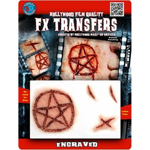 コスプレ衣装/コスチューム Tinsley Transfers Engraved 装飾メイクシール