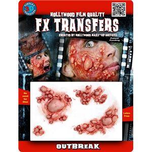 コスプレ衣装/コスチューム Tinsley Transfers Outbreak 装飾メイクシール