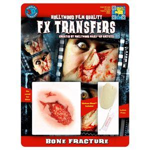 コスプレ衣装/コスチューム Tinsley Transfers Bone Fracture 装飾メイクシール