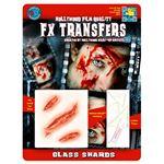 コスプレ衣装/コスチューム Tinsley Transfers Glass Shards 装飾メイクシール