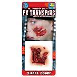 コスプレ衣装/コスチューム Tinsley Transfers Small Gouge 装飾メイクシール