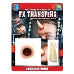 コスプレ衣装/コスチューム Tinsley Transfers Jurassic Horn 装飾メイクシール