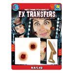 コスプレ衣装/コスチューム Tinsley Transfers Nailed 装飾メイクシール