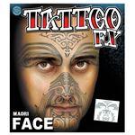 コスプレ衣装/コスチューム Tinsley Transfers Maori タトゥーシール