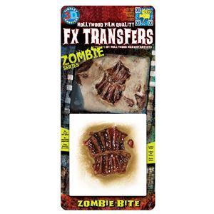 コスプレ衣装/コスチューム Tinsley Transfers Zombie Bite 装飾メイクシールの画像