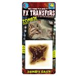 コスプレ衣装/コスチューム Tinsley Transfers Zombie Gash 装飾メイクシール