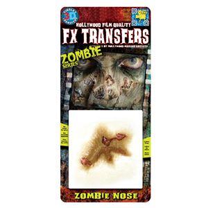 コスプレ衣装/コスチューム Tinsley Transfers Zombie Nose 装飾メイクシール