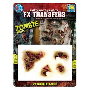 コスプレ衣装/コスチューム Tinsley Transfers Zombie Rot 装飾メイクシールの画像