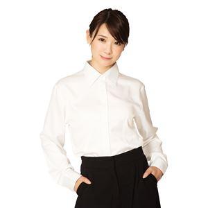 機能性ビジネスシャツ レギュラー L 白