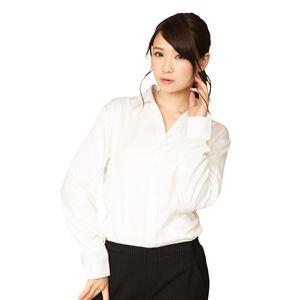 機能性ビジネスシャツ スキッパー S 白