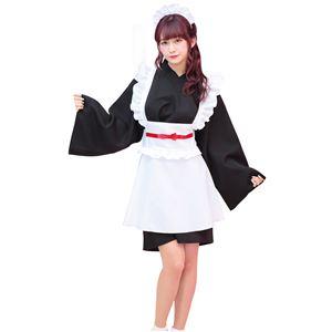 【コスプレ衣装/コスチューム】TG 和風メイド - 拡大画像