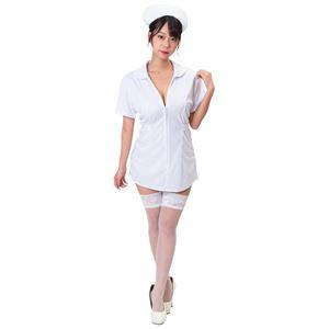 【コスプレ衣装/コスチューム】 シェリーズクローゼット ナース 白