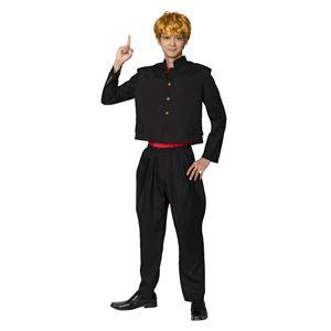 【コスプレ衣装/コスチューム】 今日のヤンキー短ラン - 拡大画像