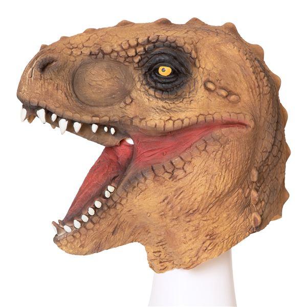 【コスプレ衣装/コスチューム】ラバーマスク 恐竜
