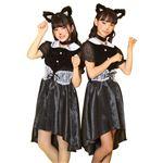 【コスプレ衣装/コスチューム】 HW COSCHU! ガールズキャット 〔ハロウィン パーティー 宴会〕