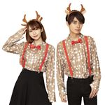 【クリスマスコスプレ/コスプレ衣装】 XM トナカイシャツ