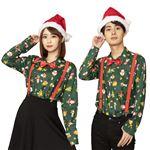 【クリスマスコスプレ/コスプレ衣装】 XM クリスマスシャツ
