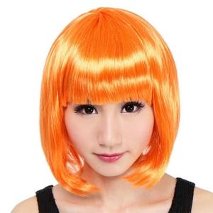 【コスプレ】 セレブパーティー ボブ(オレンジ) 4560320836254 - 拡大画像