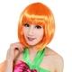 【コスプレ】 セレブパーティー ボブ(オレンジ) 4560320836254 - 縮小画像4