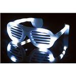 ELEX(エレクトリック イーエックス)光るサングラス 白