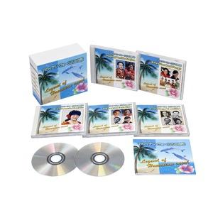 ハワイアン・ヴォーカルの伝説 【CD5枚組 全98曲】 別冊歌詞ブックレット カートンBOX付き 〔ミュージック 音楽〕 - 拡大画像