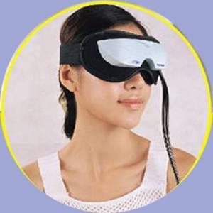 疲れた目をリフレッシュ アイビブラート2(加圧 温熱 振動) - 拡大画像