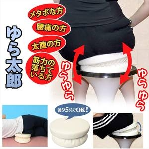【DVD付き体幹筋トレーニングクッション】ゆら太郎 - 拡大画像