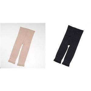 極薄インナー「パフィールプラス 5分丈パンツ」3枚組 ブラックL-LL - 拡大画像