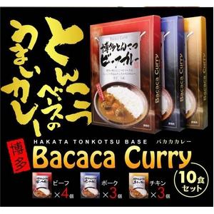 博多とんこつバカカカレー10食セット - 拡大画像