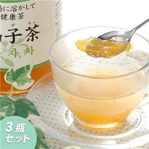 柚子茶3本 - 拡大画像