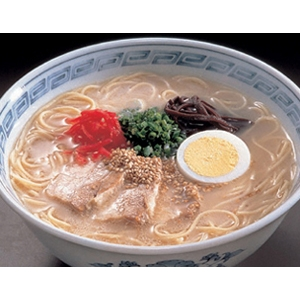 久留米ラーメン生タイプ20食 - 拡大画像