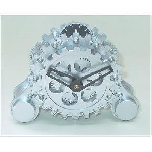 ギアクロックアラーム時計 - 拡大画像