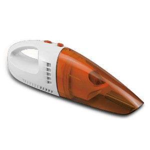 ウエット&ドライハンディクリーナー/掃除機 【オレンジ】 超軽量タイプ コードレス アタッチメント付き FBC-777or