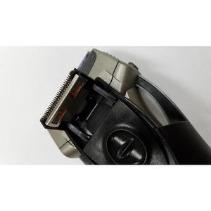 3枚刃 電気シェーバー/電気カミソリ 【シルバー】 充電交流両用往復式 水洗い可 GD-ST305