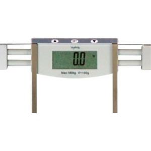 ボディバランスチェッカー/体重計 【グレー】 タップスイッチ&オートOFF機能付き 体重・体脂肪率・体水分率 GD-BF770