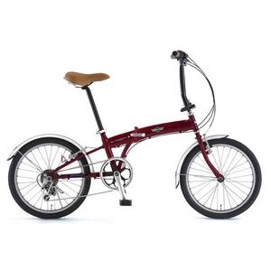 MINI(ミニ) 折り畳み自転車 FDB20(6speed) - 拡大画像