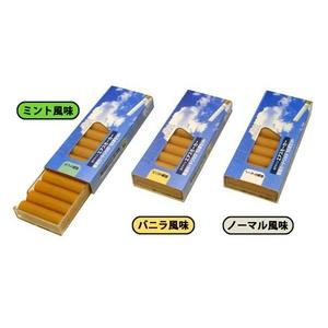 電子タバコ エアスモーカー専用取替えカートリッジ 「バニラ風味」(10本入り) - 拡大画像