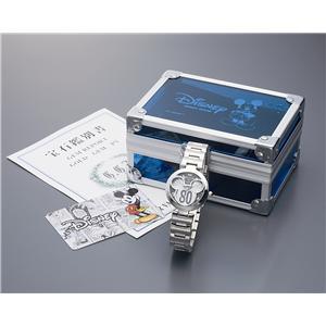 世界限定ミッキー誕生80周年記念時計(ホワイト&ブラック) - 拡大画像