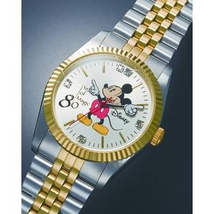 ミッキー80周年記念世界限定メモリアル時計 メンズ - 拡大画像