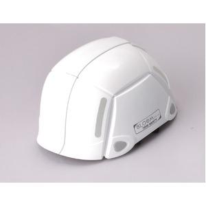 防災用折りたたみヘルメット BLOOM(ホワイト)【防災ヘルメット】 - 拡大画像