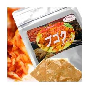 プゴクスープ チゲ風味(22食入り×3袋) - 拡大画像