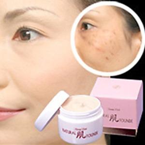 ナチュラル肌ファンデーション 【2個セット】 化粧水・乳液・クリーム・美容液・下地・UVカット効果 日本製 - 拡大画像