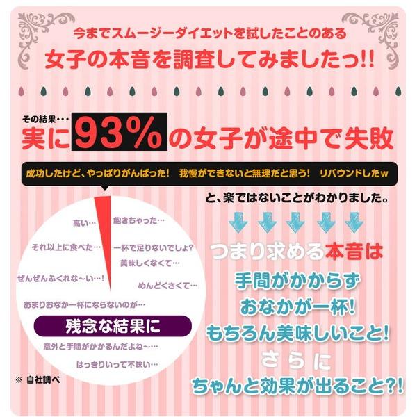 チアシード入りダイエットスムージー 【ピタヤ 200g】