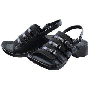 【足に優しいサンダル】アーチサポートサンダル バックベルト付き Lサイズ(24.5〜25.5cm )