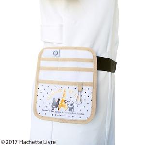 リサとガスパール ポケットオーガナイザー【2個セット】【PARISベージュ】
